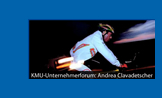 KMU-Unternehmerforum: Andrea Clavadetscher